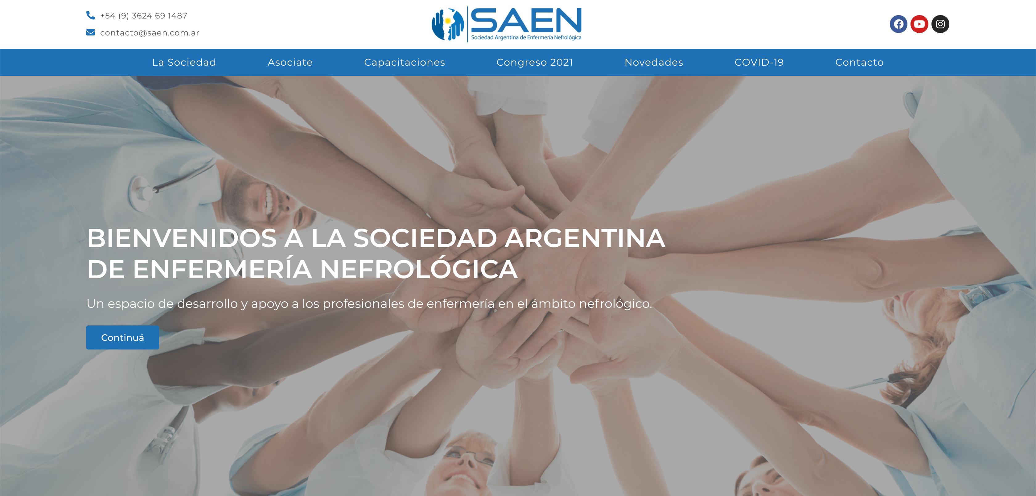 saen-sociedad-argentina-de-enfermeria-nefrologica-online-lab-web-development-web-design-2
